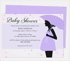 Invitation Template Word Simple Word Templates Baby Shower Hcsclubtk