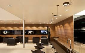 creative office ceiling. Good Recessed Ceiling Design Ideas : Creative Office Room Decorating With Solid Wood Wall P
