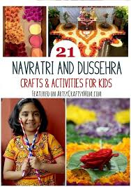 Dussehra Charts For School 21 Navratri Dussehra Activities Crafts For Kids Artsy
