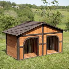 boomer george duplex dog house options doors hayneedle insulated plans for dogs inusemp full