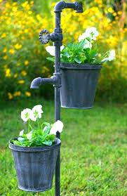 decorative garden faucet faucet garden stake with two planters garden faucet extender decorative garden hose faucet decorative garden faucet
