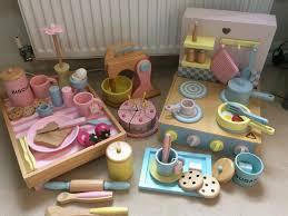 elc wooden kitchen bundle mixer cake lots of accessories lots of pieces
