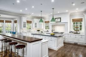 u shaped kitchen with breakfast bar granite top material kitchen sink butcher block countertop red kitchen