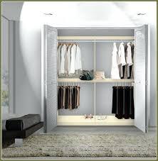 double hang closet rod hanging bar decobros adjule