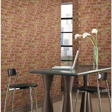 Small Picture Stone Brick and Wood Wallpaper Wallpaper Borders The Home