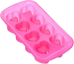 wilton 2105 3120 8 cavity heart shaped silicone shot glass mold