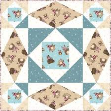 """Quilt Inspiration: Free pattern day: Baby quilts ! (part 1) & Bear Necessities quilt, 41 x 47"""", free pattern by Birch Fabrics (PDF  download) Adamdwight.com"""