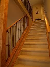 basement stairs railing. Image Of: Basement Stairs Railing Nice F