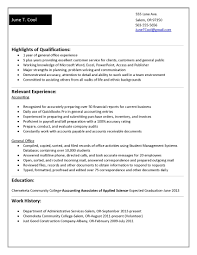 cover letter sample accounting resume no experience sample resume cover letter cook resume no experience accounting resumes examples accountant samples for college students worksample accounting