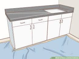 image titled paint laminate cabinets step 1