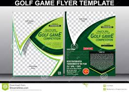 Golf Tournament Brochure Template 10 Popular Free And Premium Golf ...