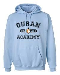 Light Blue Sweetener Hoodie Ouran Host Club Academy Unisex Hoodie S 3 Xl And 50 Similar