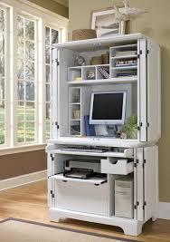 home office computer desk hutch. Naples White Compact Computer Desk \u0026 Hutch. Home Office Hutch O
