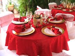 round table decoration ideas round table centerpiece ideas with red cloth and wine glasses round table decoration ideas