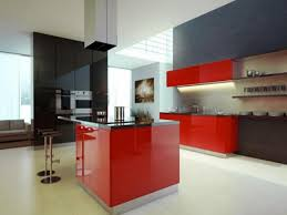 Image Of: Red And Black Kitchen Ideas 2017