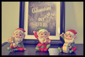 Image result for christmas elves statue