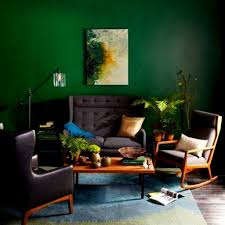Photos Dark Green Living Room Of Awesome Traditional Walls In