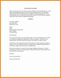 Resume Sample Follow Up Email Sections Letter How To Write An For