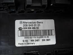 w203 clk boot mounted sam unit fuse box controller module 209 545 mercedes w203 clk boot mounted sam unit fuse box controller module 209 545 01 01 2095450101