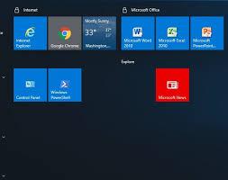 Microsoft Menu Windows 10 Update Kb4467682 Breaks Custom Start Menu Borns Tech