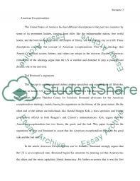 america exceptionalism essay example topics and well written america exceptionalism essay example