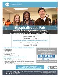 jvs careersolution hospitality job fair1