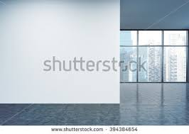 wall office. delighful wall empty office white wall in front of panoramic window singapore view  concept to wall office
