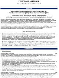 Chief Operations Officer Resume Sample & Template