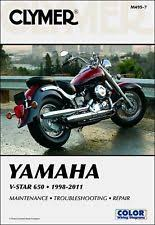 motorcycle parts for yamaha xvs custom 1998 2011 yamaha v star vstar xvs 650 clymer repair manual fits yamaha xvs650 custom