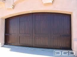 dynamic garage doorsMediterranean Revival 06  Custom Architectural Garage Door