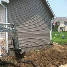 Exterior Basement Waterproofing Protects Your Foundation From Water Magnificent Exterior Wall Waterproofing Model Property