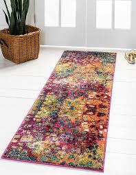 80cm x 600cm barcelona runner rug