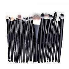 lcas professional 20 pcs makeup brush kit eyebrow