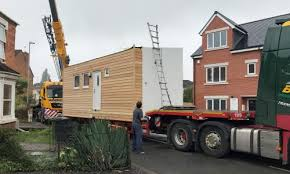 Small Picture First micro home lands in Worcester charitys back garden