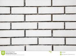 White Exposed Brick Wall Exposed White Vintage Brick Wall Texture Stock Photo Image 68728501