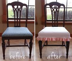 Elasticated Plaid Patterned Fabric Dining Chair Covers Seat as Well