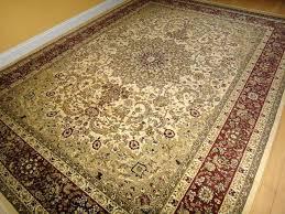10 x 13 area rug large cream burdy traditional