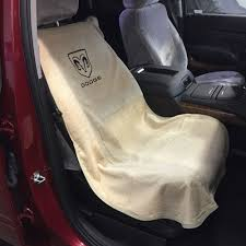 1994-2017 Dodge Ram 1500 Tan Seat Cover Seat Armour Towel Black ...