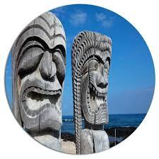 hawaiian metal wall art s landscape disc contemporary island chain