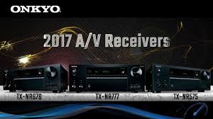 Onkyo 2017 Receiver Comparison Skadi Electronics
