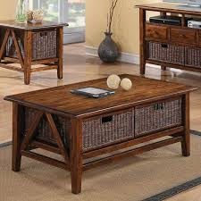coffee table rectangular cocktail table with 2 removable wicker storage baskets ikea coff coffee tables with