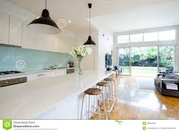 Modern Kitchen Living Room Contemporary Kitchen Living Room Royalty Free Stock Photo Image