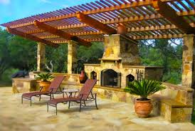 Outdoor Patio Fireplace Designs Ideas Pictures Reviews