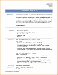 Pastry Chef Resume Free Download Chef Resume Template Free Best