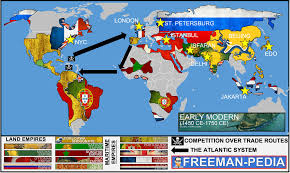 early modern manpedia the above map was created using the geographic references from this era in the ap world