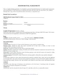 Rental Contract Template Word Rental Lease Agreement Template Word Danielmelo Info