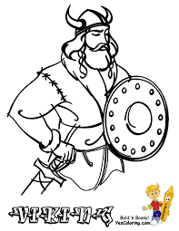 Small Picture Coloring Pages Viking Ship