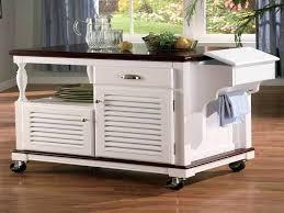 kitchen island cart white. Kitchen Island On Casters Wonderful Table Wheels White  Cart O