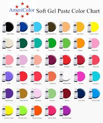 Wilton Gel Icing Color Chart Wilton Color Gel Guide