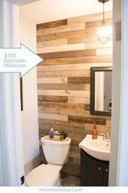 Cheap Bathroom Makeover Extraordinary Weekend Bathroom MakeoverFor 48 This Is Amazing I Think This